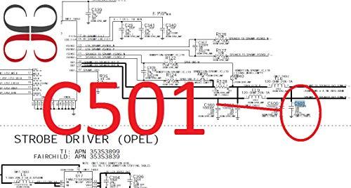Gigabue C501 1000PF 10% 10V X5R 01005 IC Chip para Placa Base iPhone 5S