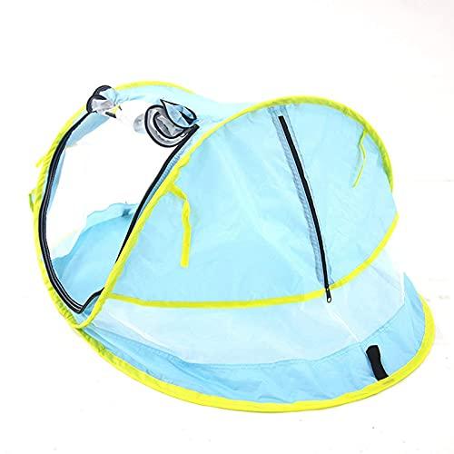 Portable Pop Up Baby Beach Tent UPF 50+ Sun Shelter Infantil Mosquitera para bebé viaje cama con 2 clavijas ligero