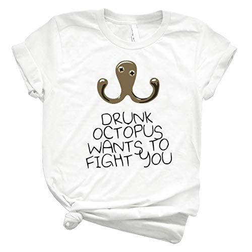 Drunk Octopus Wants to Fight You 68 Classic Style Shirt for Men - Women Fashionable Shirts - Trending Graphic