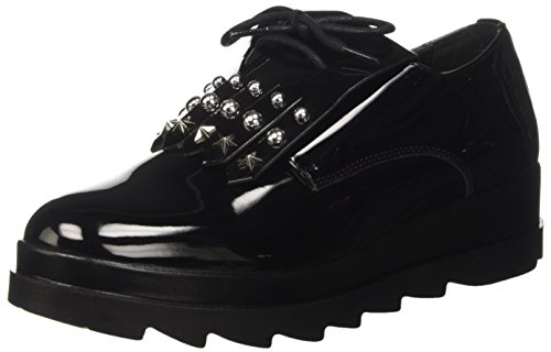 Cult Cult CLJ101775, Mädchen Niedrige Sneaker, Schwarz - Schwarz (Black 999) - Größe: 37 EU