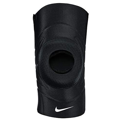 Nike Unisex– Erwachsene Pro Open Patella Kniebandage, Schwarz, L