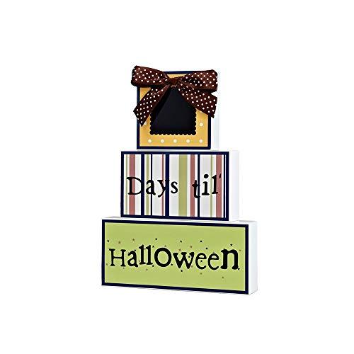 ZAKRLYB Adornos de Madera para niños Ornamentos Decorativos de Dibujos Animados Artesanía para el Dormitorio Sala de niños Estudio Librería Decoración Adornos como cumpleaños Día de los niños