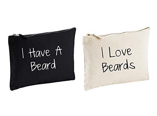 Parejas Neceser Set I tienen un Barba I Love barbas regalo bolsa...