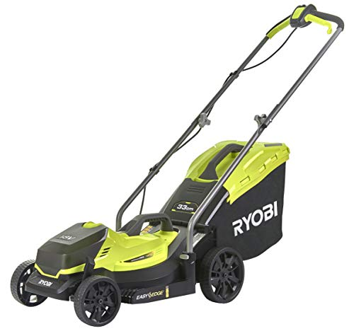 Ryobi OLM1833B Tondeuse à gazon électrique sans fil (largeur de coupe 33...