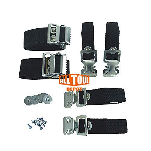 Sur Pro Strap Kit Replacement for Single Side Sur Pro Stilts Models SS1002BK