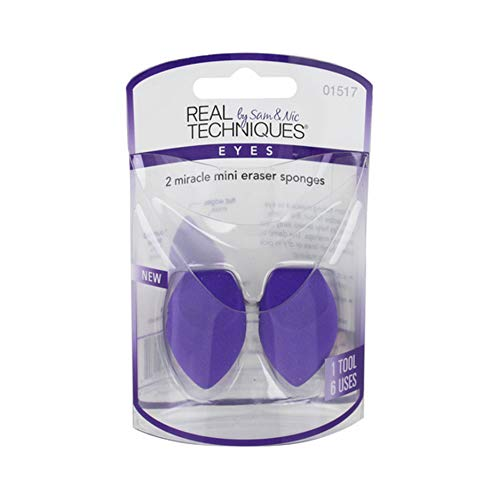 Real Techniques 2 Miracle Mini Eraser Sponges (3 Pack)