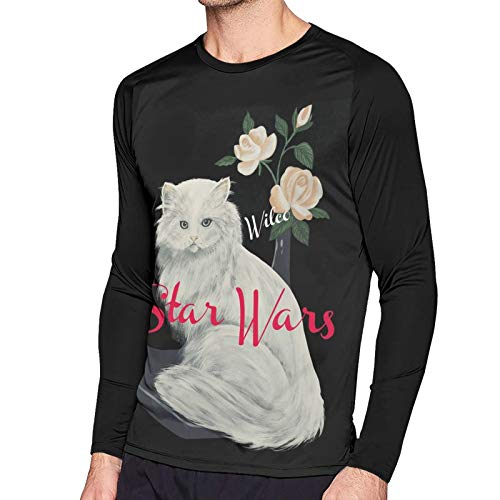 Wilco Star Wars T Shirt Men's Raglan Long Sleeve Tshirts Cool Baseball Sports Tee Black