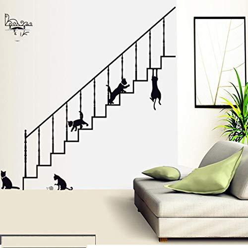 Kitten trappen verwijderbare lijm 60 * 90cm