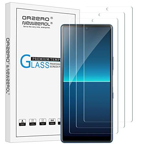 NEWZEROL 3 Stück Schutzfolie für Sony Xperia L4 Panzerglas 2,5D Bogenkanten Kratzfestigkeit 9 Härte High-Definition-Hartglas-Bildschirmschutz für Sony Xperia L4