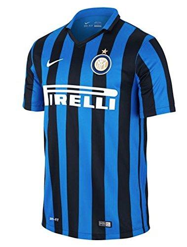 Nike 1. Trikot Inter Mailand 2015/2016–Offizielle Trikot, Herren, Inter Ss Home Stadium JSY, Small