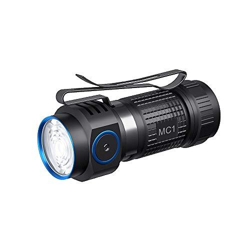 TrustFire MC1 1000 lúmenes CW Linterna LED EDC recargable con batería IMR16340...