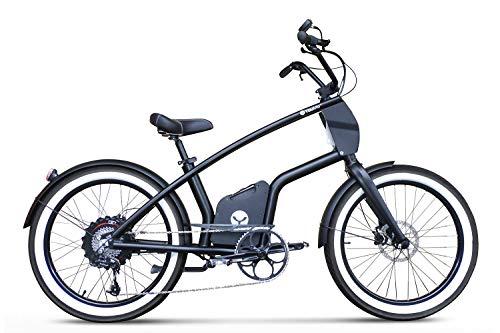 YouMo Adulto One X500 S-Pedelec Bicicleta Eléctrica, Negro,