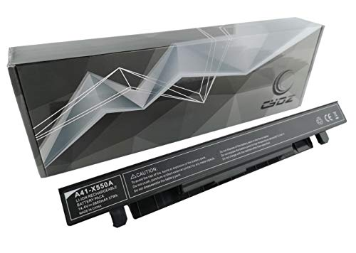 CYDZ® A41-X550A Bateria de laptop 14.4V 2600mAh A41-X550 para ASUS F450 F452 F550 F552 FX550 E450 E550 F550CA F550CC F450CA F450CC F450CP F450EA F550IU F550JD F550JF F550JK F550JX F550LA