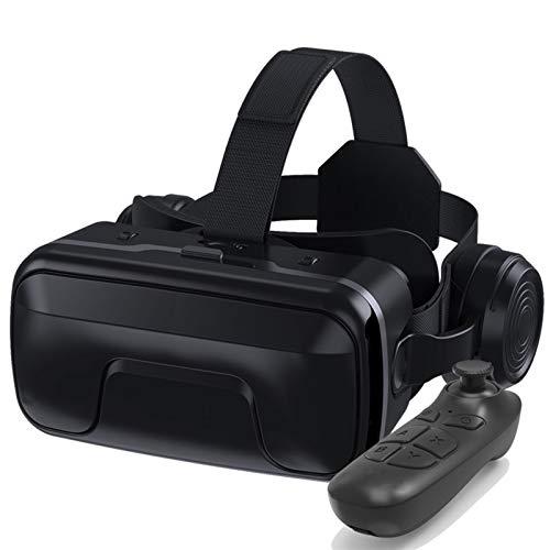 Nuevas gafas 3D VR suaves y cómodas VR Auricular Realidad Virtual Auriculares VR Gafas Gafas HD Lens para Películas VR 3D Videojuegos para iPhone 12/11 / X / 8/7/6 para Samsung S10 / S9 / Nota10 / 9 T