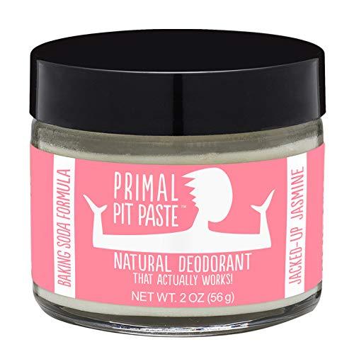 Primal Pit Paste All-Natural Deodorant - Aluminum & Paraben Free - Jasmine Deodorant Jar