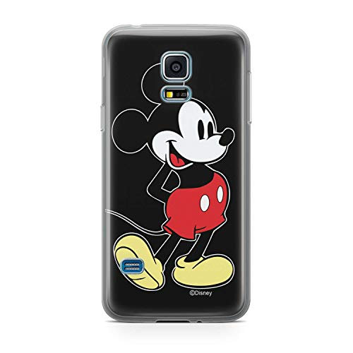 MickeyMouse-Happy Samsung Galaxy S5 Silicone