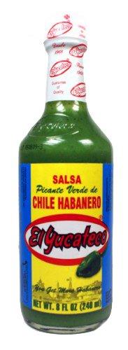 El Yucateco – Green Habanero Hot Sauce (Salsa Picante de Chile Habanero) – 240ml
