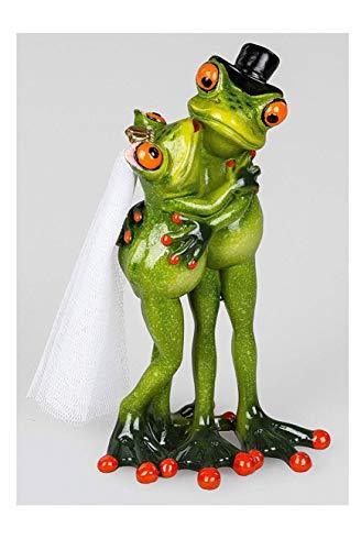 Formano Frosch Brautpaar, Liebe, Hochzeit, ca.16cm