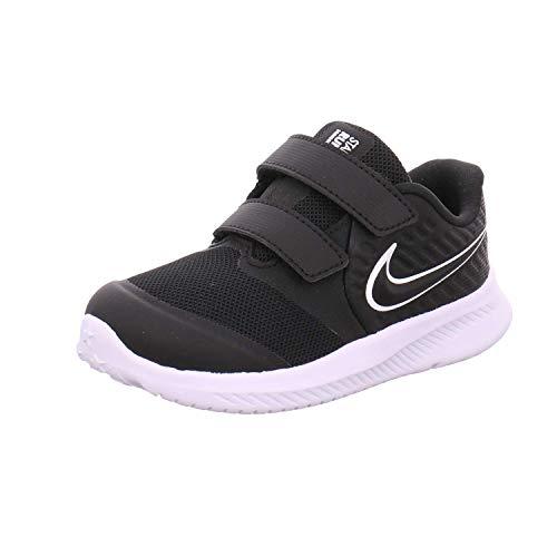 Nike Jungen Laufschuhe Star Runner 2 (TDV), Schwarz, 23.5 EU