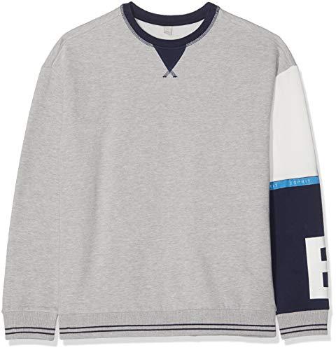 ESPRIT KIDS Jungen RP1504608 Sweatshirt, Grau (Heather Silver 223), 170 (Herstellergröße: XL)