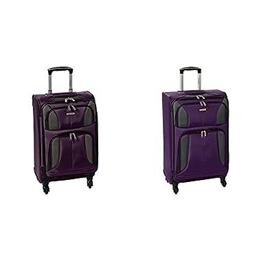 Samsonite Aspire Xlite Two-Piece Spinner Set (20 /25 ), Potent Purple