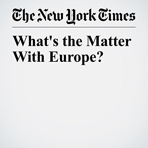 What's the Matter With Europe? copertina