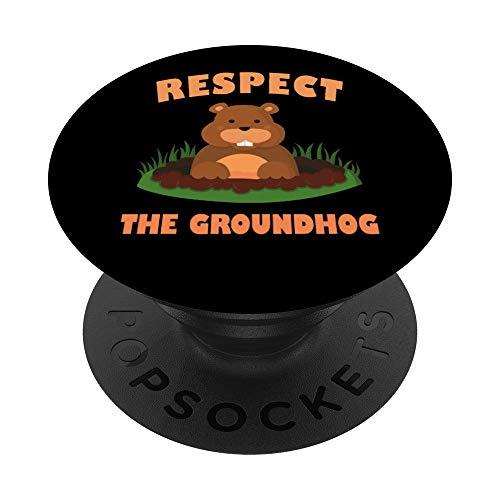 Respeta a la marmota - Divertido regalo de animales PopSocke
