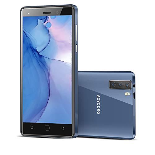 Moviles Libres Baratos 4G 5.0 Pulgadas Android 9.0 Tres Cámaras Traseras 8MP+Cámara...