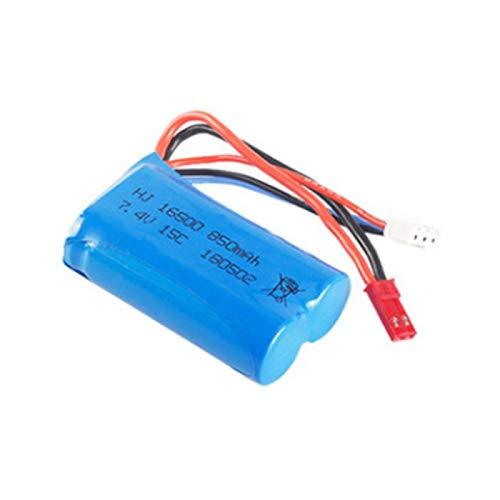 Grehod Batería de Iones de Litio de 7.4V 850mAh 16500 para huangqi el Barco de HQ956 RC para Syma X6 803875 RC FX060 9114 batería Recargable de 7.4v Red