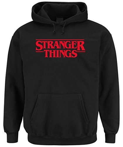 Certified Freak Stranger Things Hooded-Sweater Black (Small)