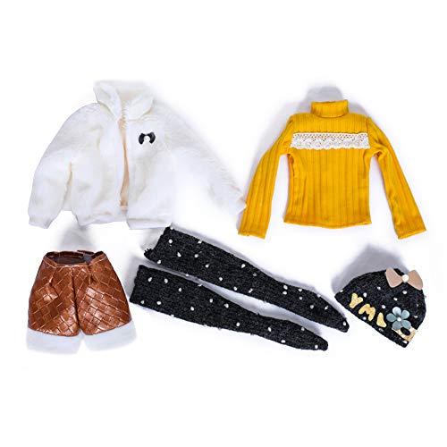 walenbily Ropa de invierno para muñecas de 60 cm (sin zapatos ni muñecas).