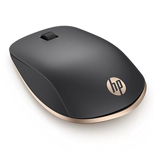 HP Z5000 (W2Q00AA) kabellose Maus (Bluetooth, 1.200 dpi, 3 Tasten, Scrollrad) schwarz / gold