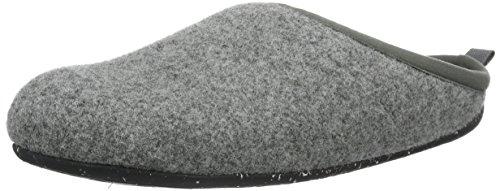 CAMPER Wabi, Damen Flache Hausschuhe, Grau (Dark Gray 061), 37 EU (4 UK)