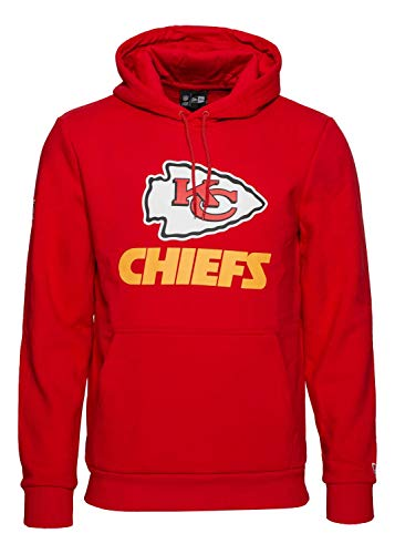 New Era - NFL Kansas City Chiefs Team Logo Hoodie - Rot Farbe Rot, Größe L