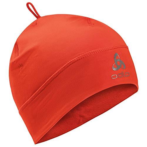 Odlo Hat Polyknit WARM Mütze, orange.com