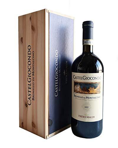Brunello di Montalcino Castelgiocondo Frescobaldi Toscana Magnum 1,5 litri – Regalo Vino per Ogni Occasione Importante dalla Toscana - Cod. 250