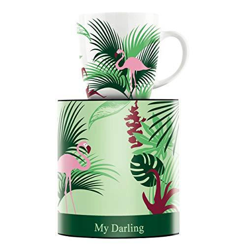 RITZENHOFF My Darling Kaffeebecher von Melanie Wüllner, aus Porzellan, 300 ml, mit trendigen Motiven