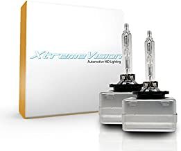XtremeVision HID Xenon Replacement Bulbs - D1S / D1R / D1C - 6000K Light Blue (1 Pair) - 2 Year Warranty