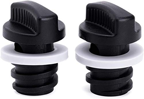 BEAST COOLER ACCESSORIES Yeti Coolers Drain Plugs (2-Pack) Drain Plugs, Ergonomically Improved Twist Drain Plug Compatible with Yeti Line of Roadie, Tundra, and Tank Coolers