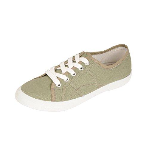 Jonny´s Vegan Sneaker Natural Khaki Gr. 35 - (7710-6Y/KAKI43/GR.35)