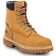 Timberland PRO 8-inch Men's, Wheat, Steel Toe, EH, Slip Resistant, Waterproof Boot (7.0 M)