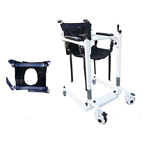 SYTH Multifunktionaler Behindertenlift, multifunktionaler Schichtstuhl für Krankenpflege, Walker Frame Elderly Transfer Chair