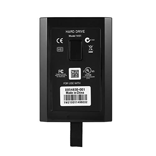 Game console hard drive for xbox 360 slim 60GB/120GB/250GB/320GB/500GB hard drive Optional