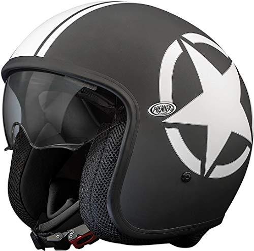 Premier Helm Vintage Star 9 BM, mehrfarbig M schwarz/weiß