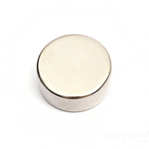 Magnetastico® | 2 Piezas imanes de neodimio N52 Discos 20x5 mm | Imanes Muy Fuertes | Neodimio superimán Imán para cartelera Imán Permanente Imán para Pizarra interactiva