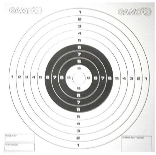 Gamo Air Rifle/Gun/Pistol bullseye pellet targets - set of 100 in stiff...