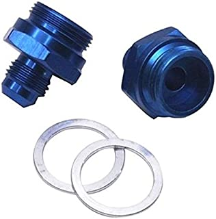 Carb Inlet Fitting Adapter, -6 AN to 7/8-20