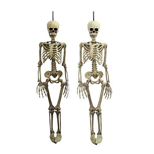 MED Horror de la casa encantada de Vestir Simulación Shantou Esqueleto Fantasma Trucos Atrezzo decoración de la Barra Creativo Fantasma (Size : L)