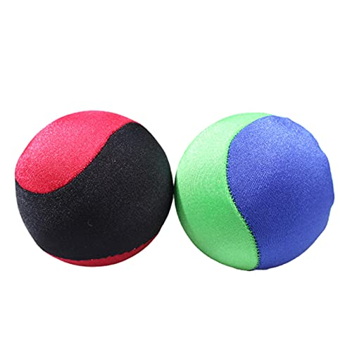 succeedw 2PCS que rebota bola de descremada del agua, playa y piscina suave desnatado bola juguetes de la piscina