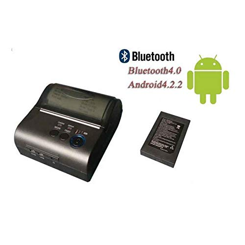 IMPRESORA TICKETS TERMICA PORTATIL BLUETOOTH 80MM: Amazon.es ...